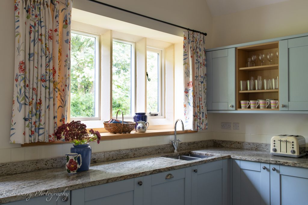 Saddlery Cottage kitchen at Treberfydd House ... by Kadi Berry Photography